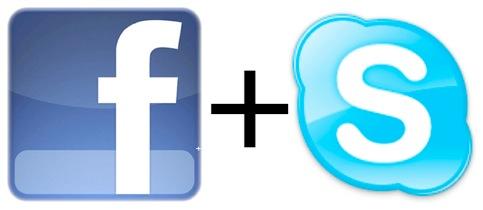 Facebook und Skype