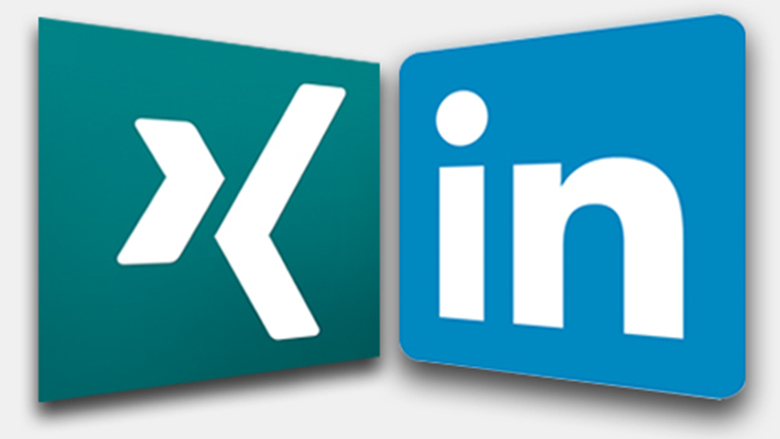 Xing vs LinkedIn_Montage