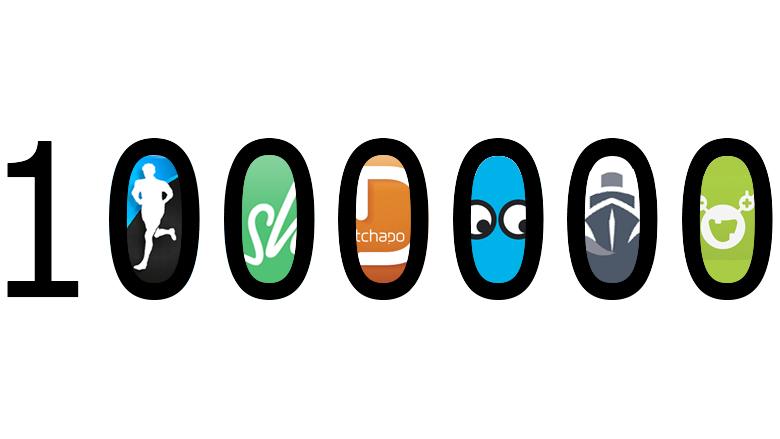 Firmen wie Runtastic, Shpock, Whatchado, Zoomsquare, Codeship oder mySugr halten mittlerweile bei Bewertungen jenseits der Millionen-Euro-Grenze. Montage: Jakob Steinschaden