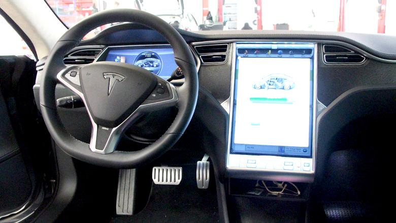 Das Model S von Tesla Motors © Jakob Steinschaden