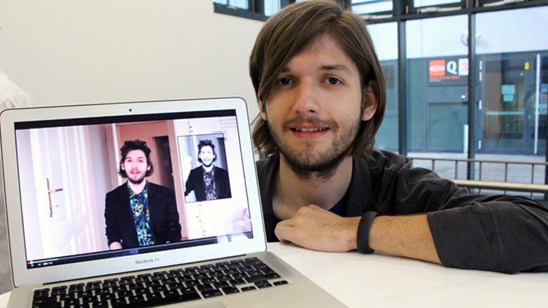Österreichs erster YouTube-Star: Michael Buchinger. © Jakob Steinschaden