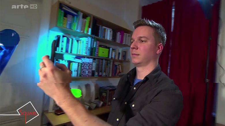 Selfie-Machen in der Sendung muss natürlich auch sein. © arte