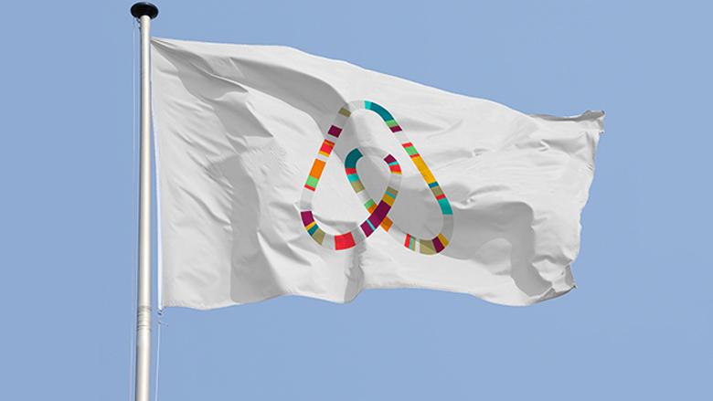 Das neue AirBnB-Logo heißt Bélo und erinnert an Verschiedenes - von Herz bis Vagina. © AirBnB