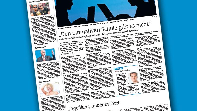 Stuttgarter Nachrichten vom 19. Juli. © Stuttgarter Nachrichten