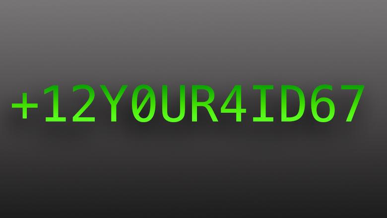 Die Telefonnummer, deine ID im mobilen Zeitalter.