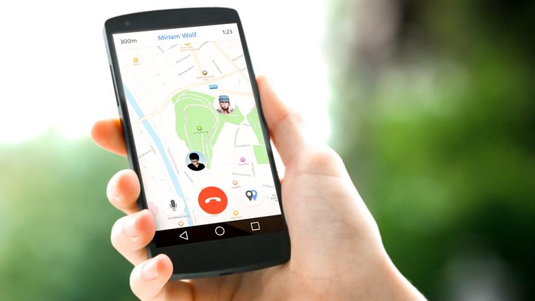 Wo zum Teufel steckst Du? Diese Smartphone-App gibt Auskunft. © Three Bee Peas