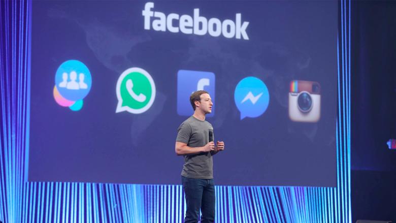 Die liebe App-Familie von Mark Zuckerberg. © Facebook